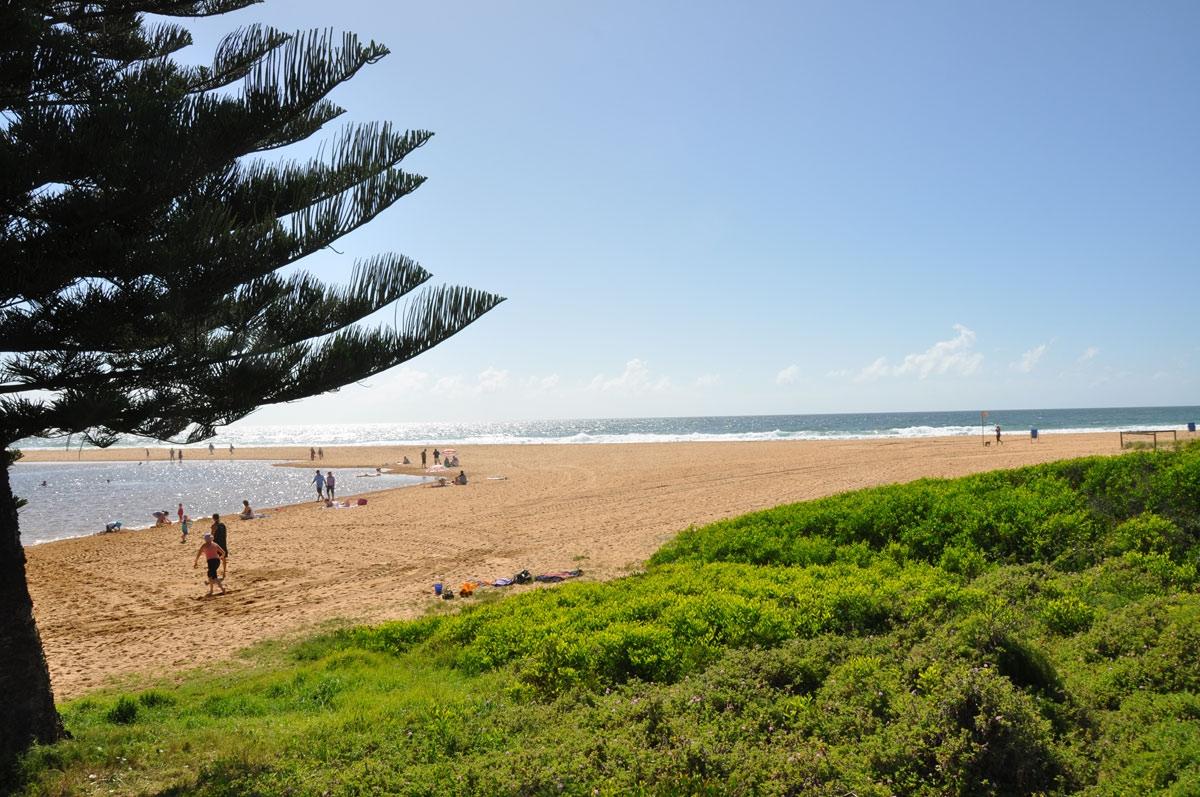 Bulbararing Lagoon and Avoca Beach
