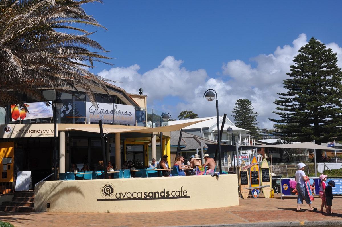 Avoca Sands Cafe at Avoca Beach