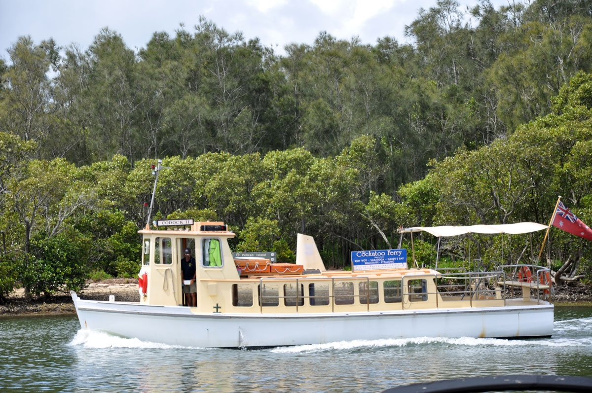 Woy Woy's Cockatoo Ferry
