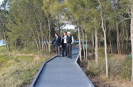 New Boardwalk on Tuggerah Lakes set to be Unveiled