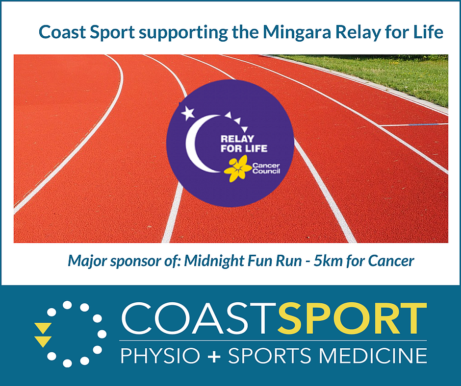 Coast Sport Helping to Outrun Cancer