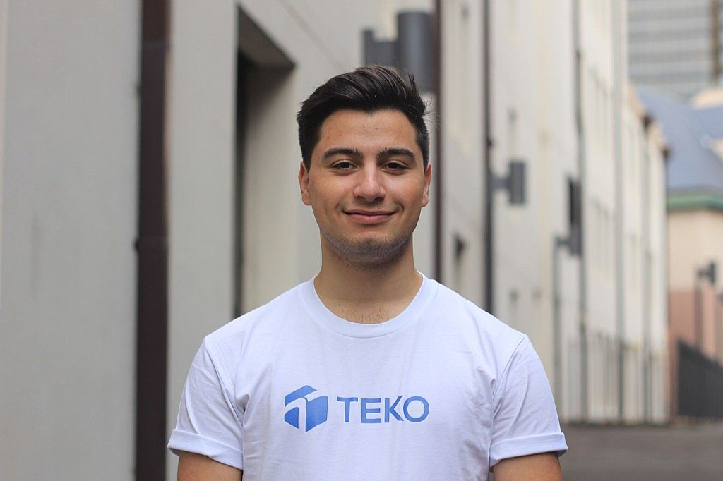 Nathan Testa the 18 Year Old CEO running his International Digital Development Company, Teko