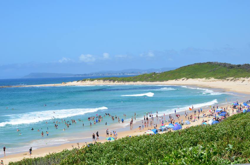 Top 5 beaches on the central coast central coast news for Beach house designs central coast nsw