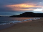 Sunset at Pearl Beach