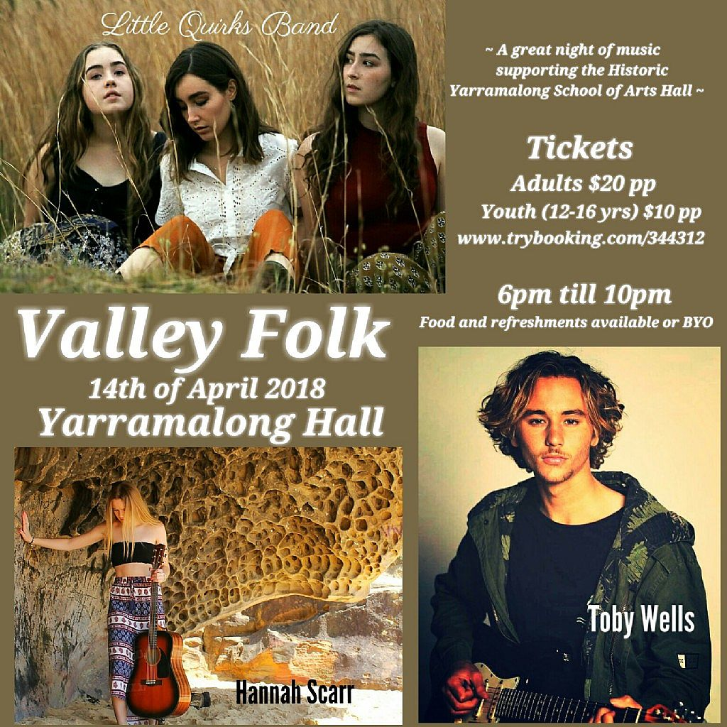 Inaugural Valley Folk Music Event