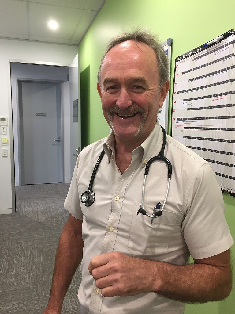 Providence Medical Warners Bay Doctor Supporting Movember