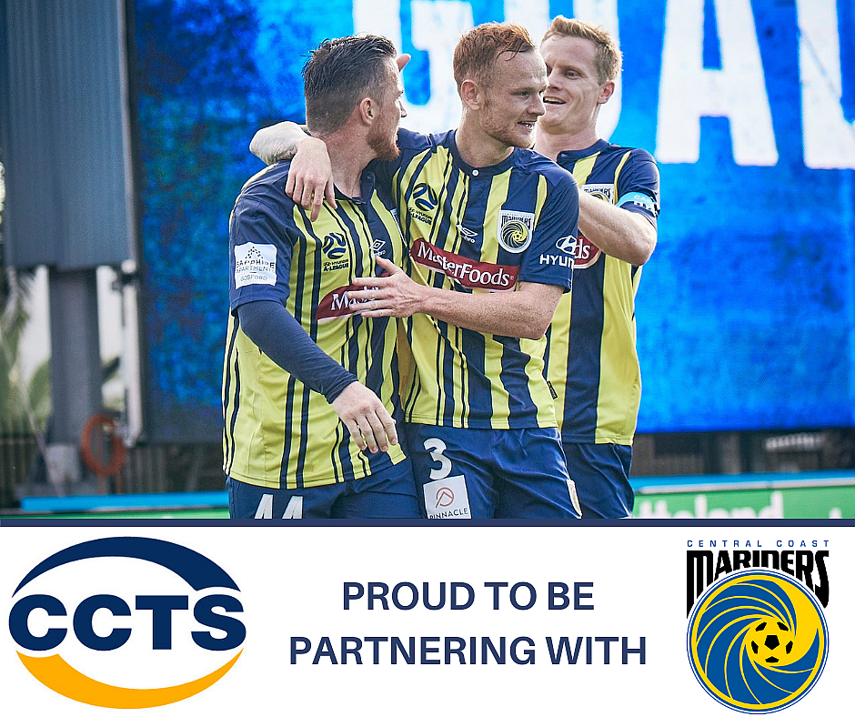 CCTS Proud New Sponsors of Central Coast Mariners FC