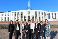 Christian Women Leaders United in Historic Visit to Canberra Advocating for Global Concerns