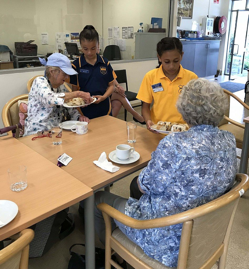 Ettalong Public School Serve Up Some Smiles at Meals On Wheels Central Coast