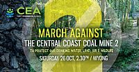 March against the Central Coast Coal Mine (Wallarah 2) - Part two
