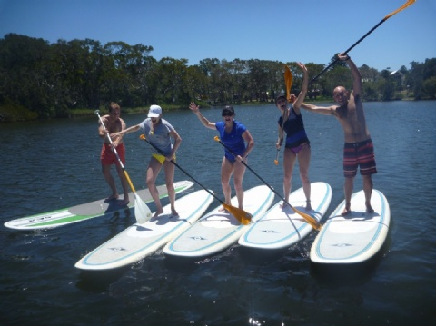 Stand Up Paddle board lessons